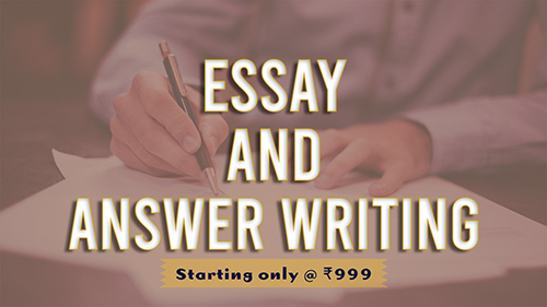 Essay and Answer Writing