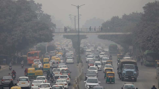 Pollution in Metros